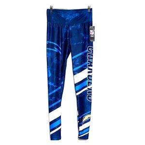 NWTs NFL CHARGERS Team Apparel Blue Leggings Pants